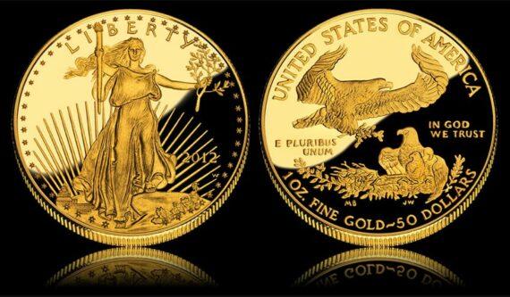 American Eagle Oro