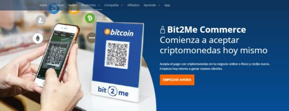 Bit2me commerce